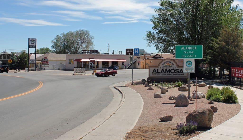Alamosa City Limit By Jeffrey Beall - Own work, CC BY-SA 3.0